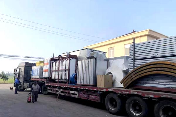 铝材喷塑设备非洲加纳走起