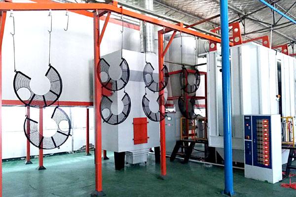 环保喷粉设备