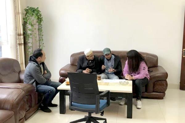 江苏斯普瑞与新疆客户签订喷粉房合同