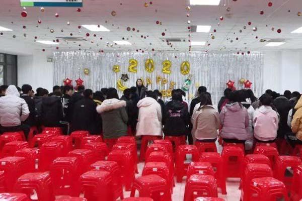 江苏斯普瑞涂装开展庆元旦迎新年活动