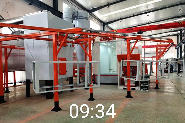 根据国内喷塑生产线厂家分析设备现状存在的问题