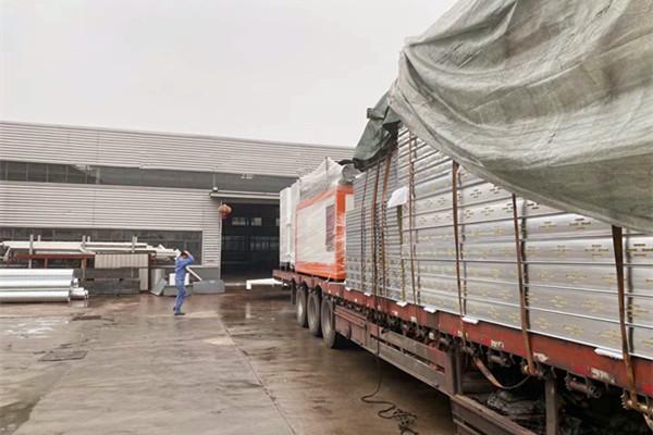 喷粉设备厂发货