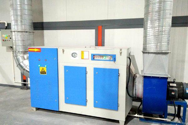 喷塑生产线光氧处理