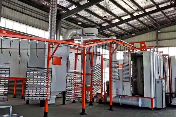 护栏喷塑设备